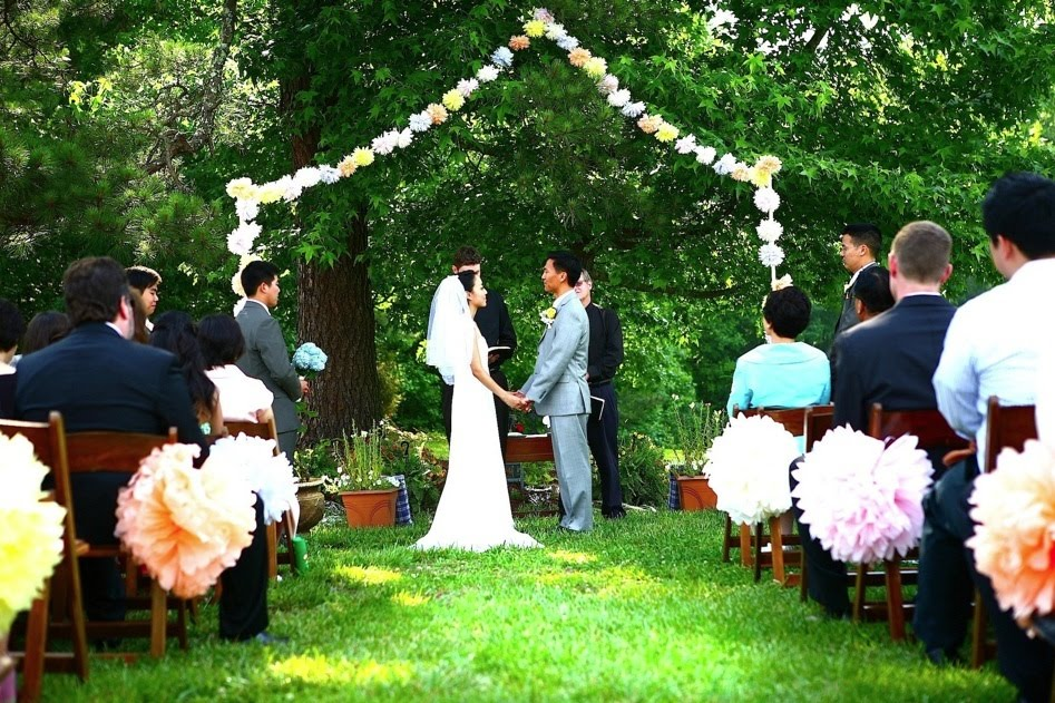 Little Backyard Wedding Ideas : Planning a Backyard Wedding  Buying Wedding Jewelry