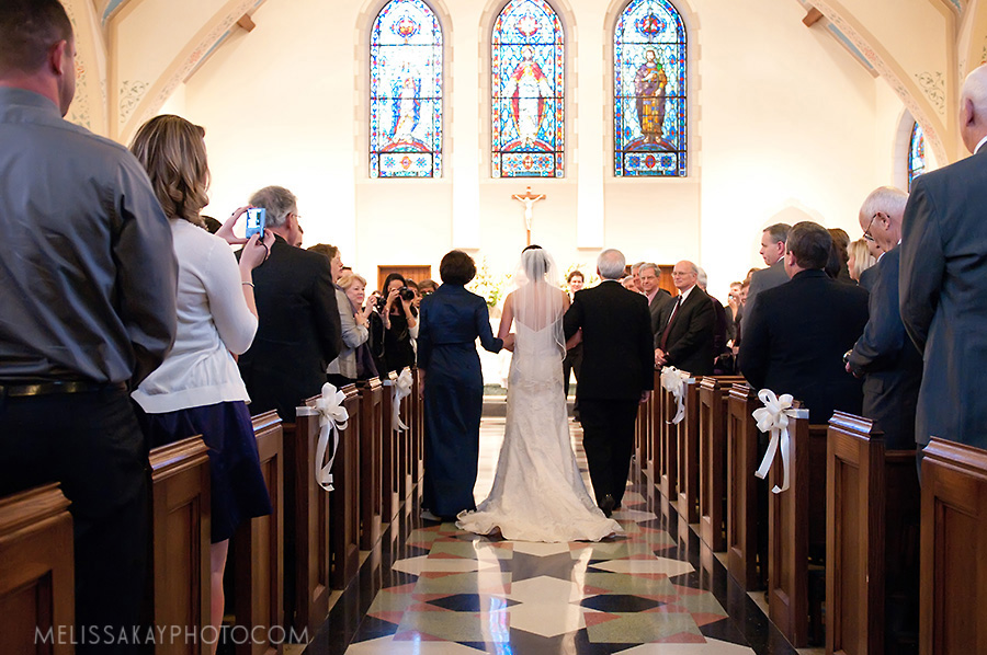 Cobblestone Hall & Sacred Heart Cathedral Wedding
