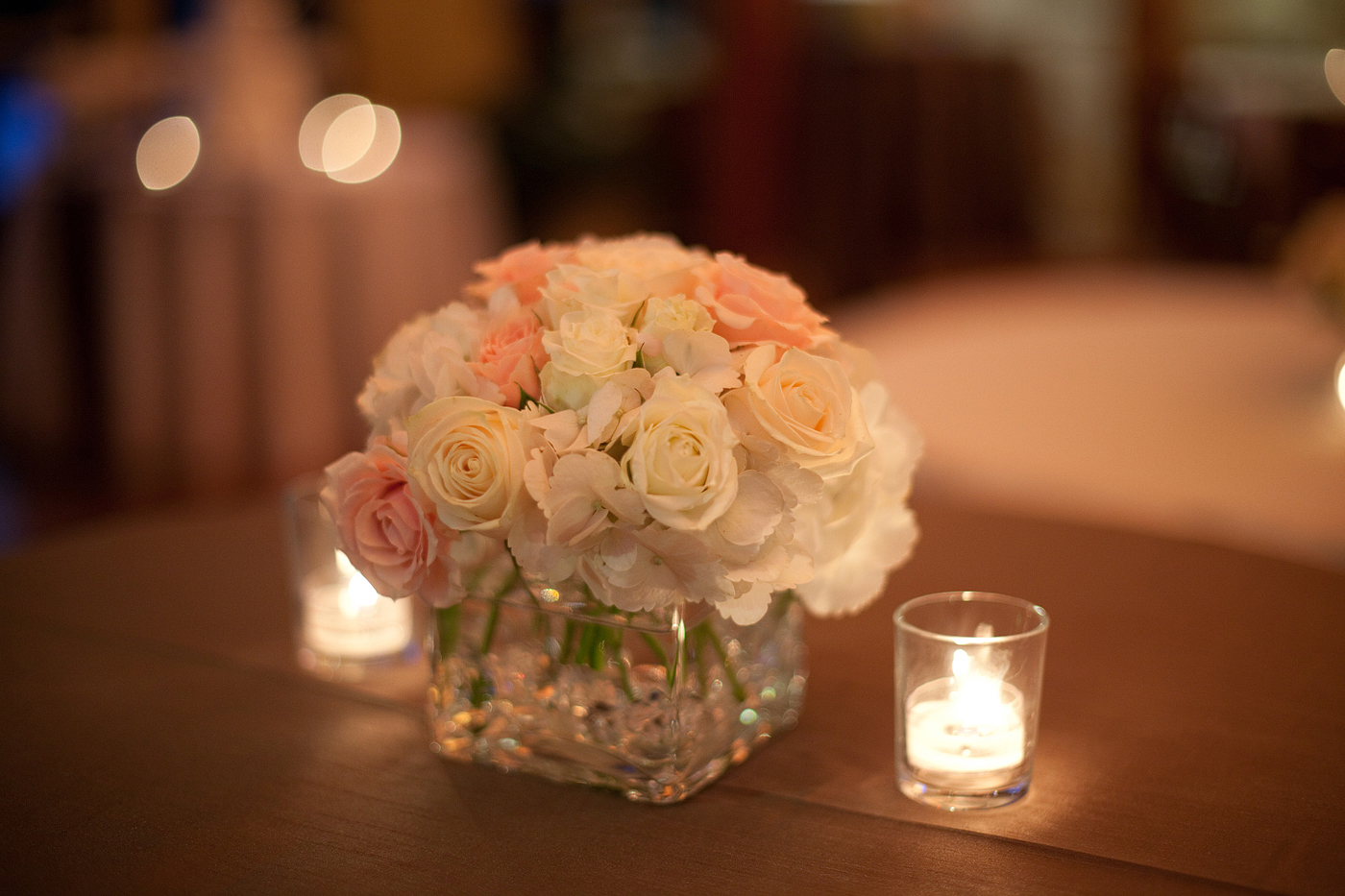 Hydrangea Rose Wedding Centerpieces: Alfa img showing gt rose and ...